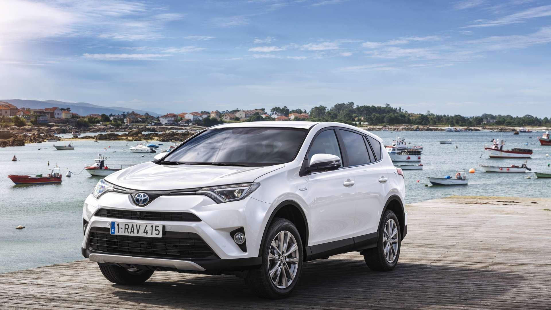 Suv Rij En Trekkracht Met Hybride Toyota Financial Lease